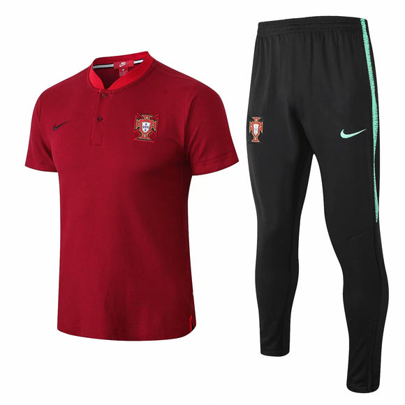 Portugal | Red Top + Pants Training Suit 18/19