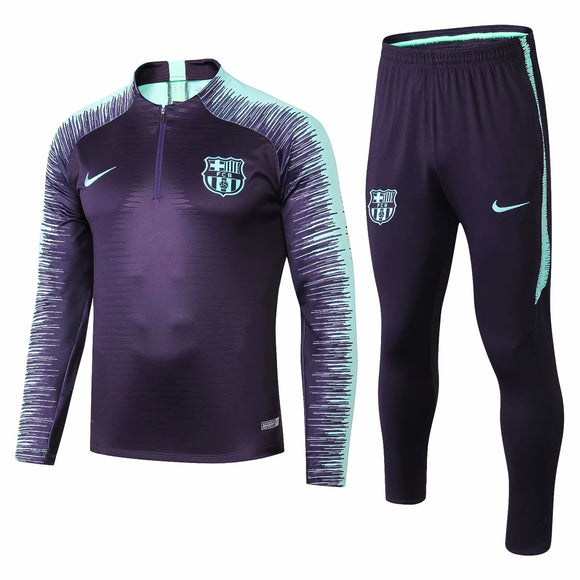 Barcelona | Purple Type B | Training Top + Pants 18/19
