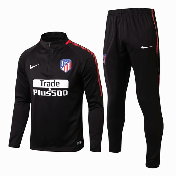 Atletico Madrid  | Black Training Top + Pants 17/18