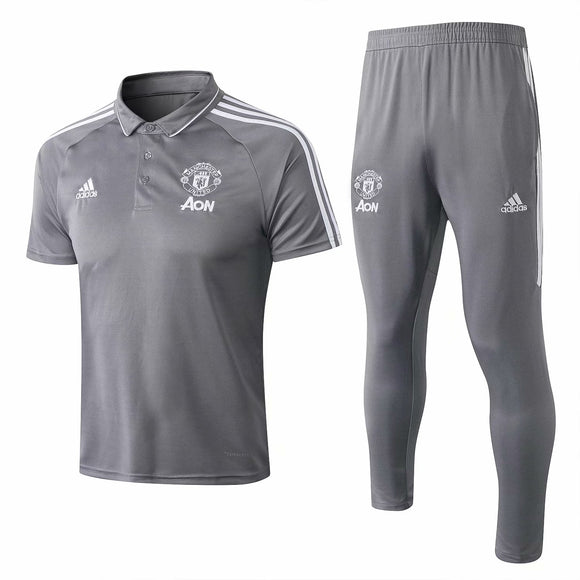 Man Utd | Polo + Pants Training Suit 17/18