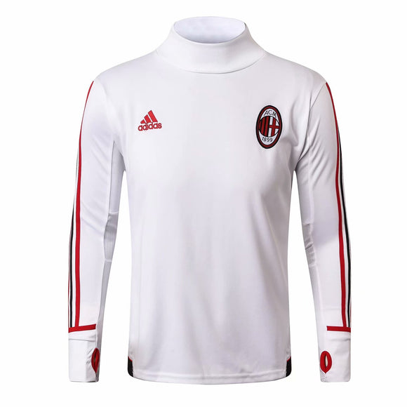 AC Milan | White Training Top + Pants 17/18
