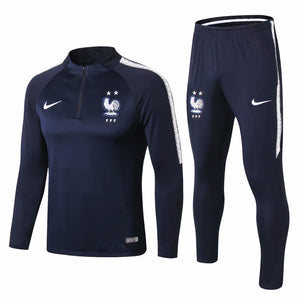 France | Blue Type A | Training Top + Pants 18/19
