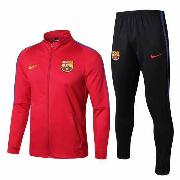 Barcelona | Red Training Tracksuit 17/18