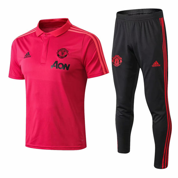 Man Utd | Polo + Pants Training Suit 18/19
