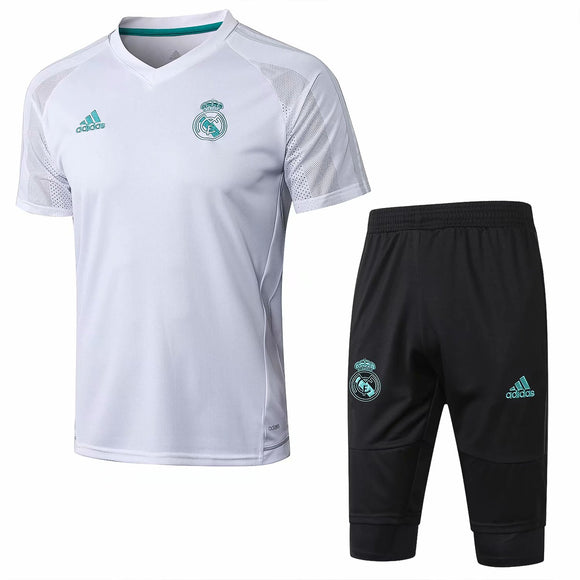 Real Madrid  | White Short Training Suit 17/18