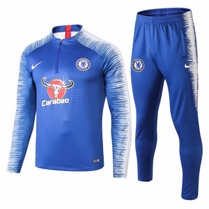 Chelsea | Blue Type B Training Top + Pants 18/19