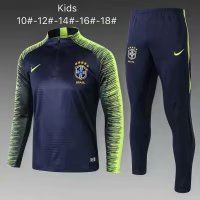 Brazil | Blue Type B | Kids Training Top + Pants 18/19