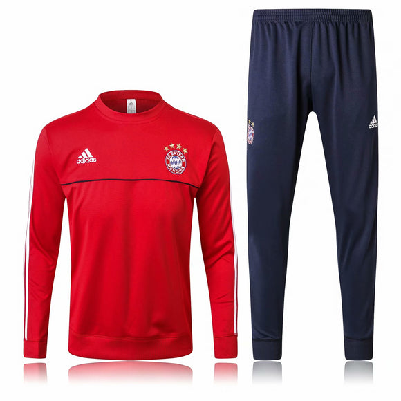 Bayern | Red Training Top + Pants 17/18
