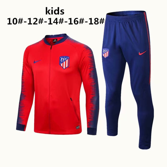 Atletico Madrid  | Red Kids Training Top + Pants 18/19