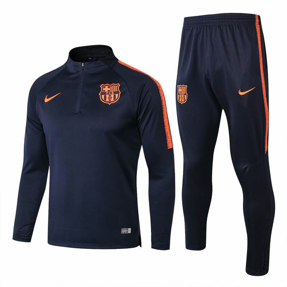 Barcelona | Blue | Training Top + Pants 18/19