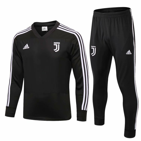 Juventus | Black Training Top + Pants 18/19