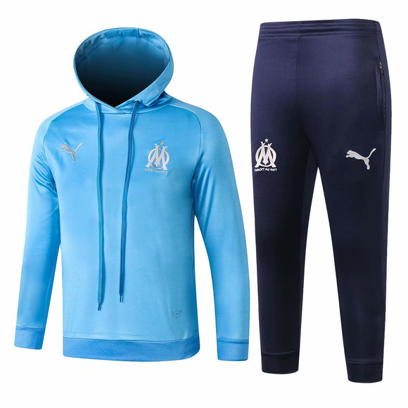 Marseille | Kids Blue Hoodies Sweater + Pants 18/19