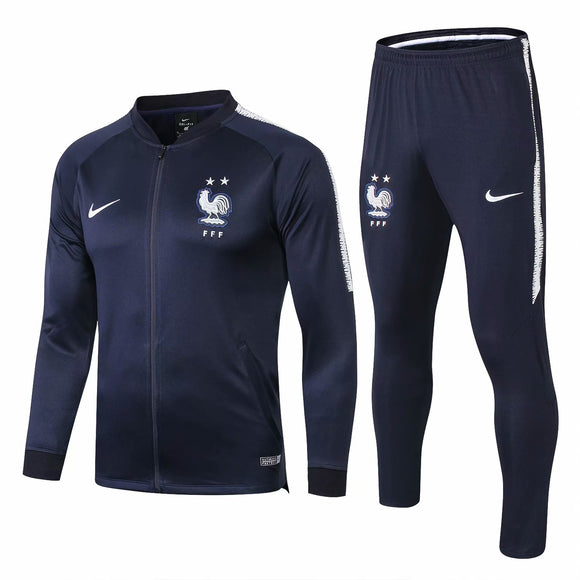 France | Dark Blue | Training Tracksuit 18/19