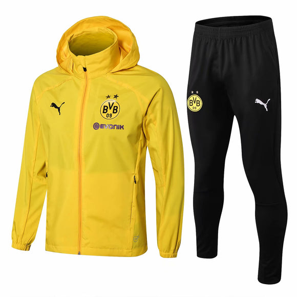 Dortmund | Yellow Windbreaker Jacket + Pants Training Suit 18/19