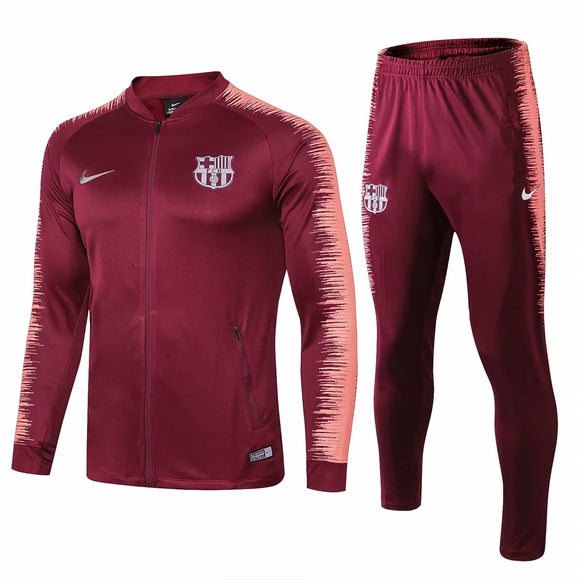 Barcelona | Red Wine Training Tracksuit 18/19