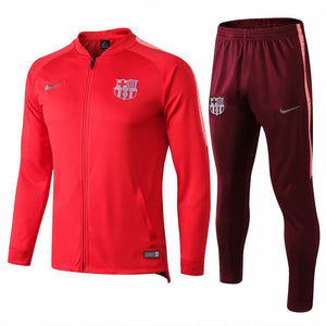 Barcelona | Red Training Tracksuit 18/19