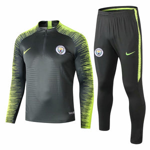 Man City| Green Type B Training Top + Pants 18/19