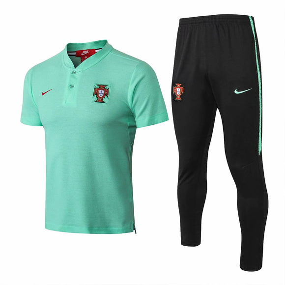 Portugal | Green Top + Pants Training Suit 18/19