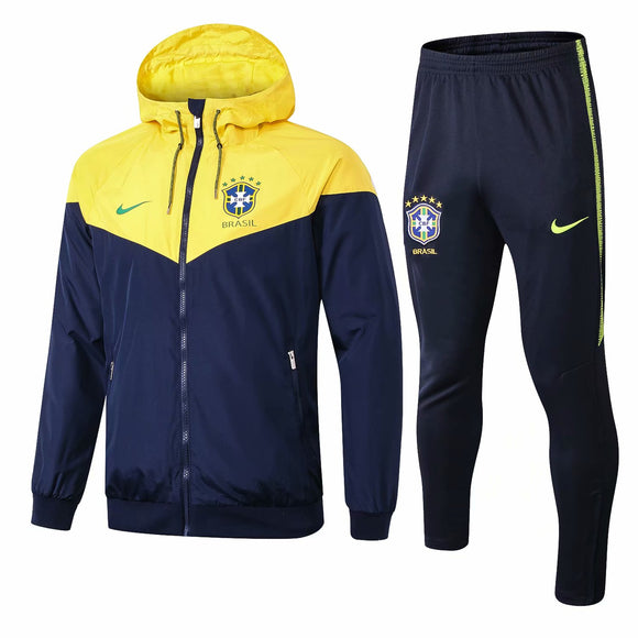 Brazil | Windbreaker Jacket + Pants Training Suit 18/19