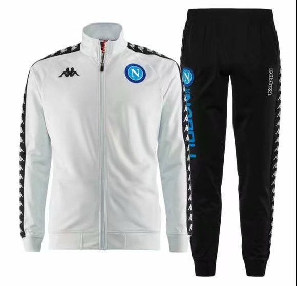 Napoli | White Type B Training Tracksuit 18/19
