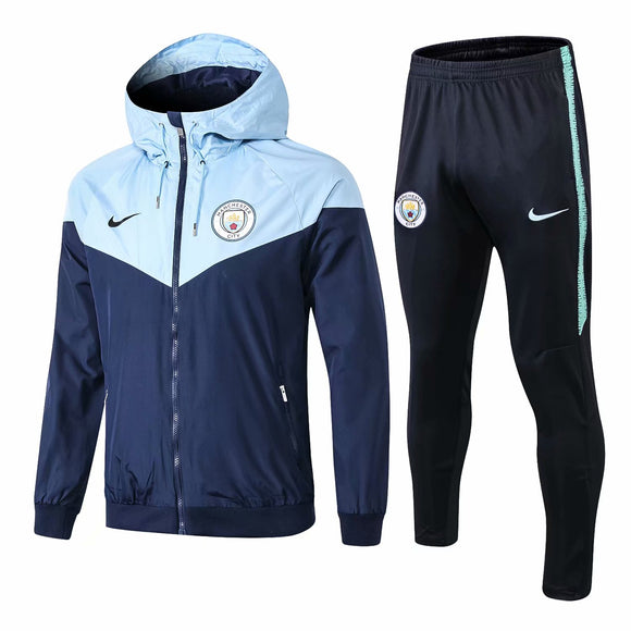 Man City | Type A Windbreaker Jacket + Pants Training Suit 18/19