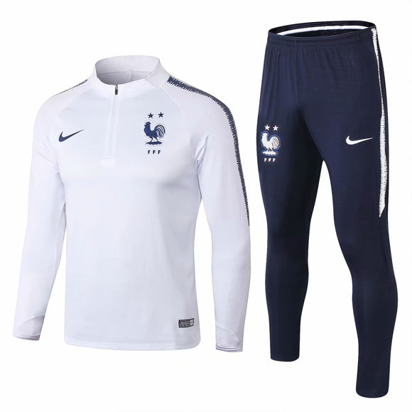 France | White | Training Top + Pants 18/19