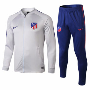 Atletico Madrid  | Light Grey Training Tracksuit 18/19