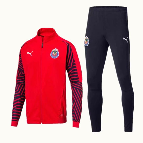 C.D. Guadalajara | Red Training Tracksuit 18/19