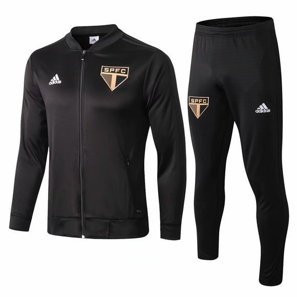 Sao Paulo FC | Black Training Tracksuit 18/19