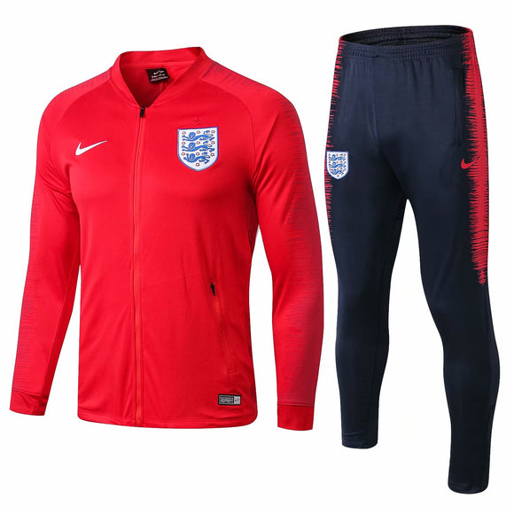 England | Red Training Tracksuit 18/19