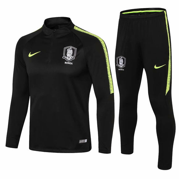 Korea | Black Training top + Pants 18/19