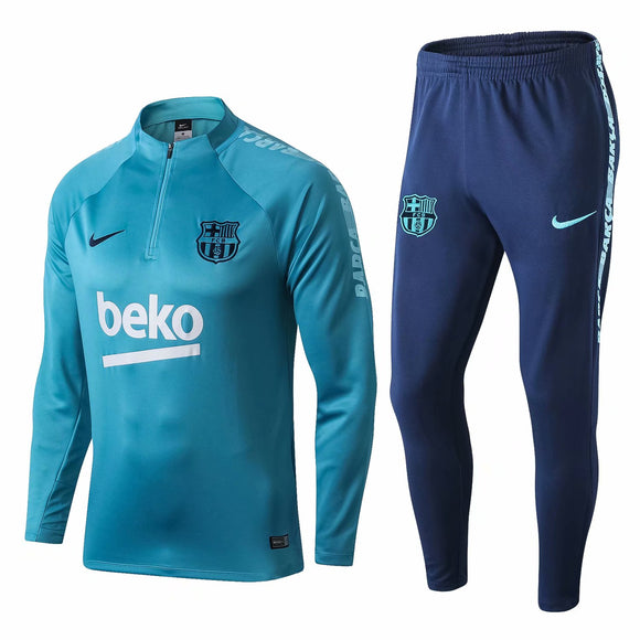Barcelona | Light Blue Type A | Training Top + Pants 18/19