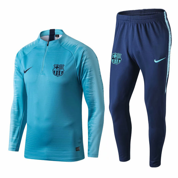 Barcelona | Light Blue Type B | Training Top + Pants 18/19