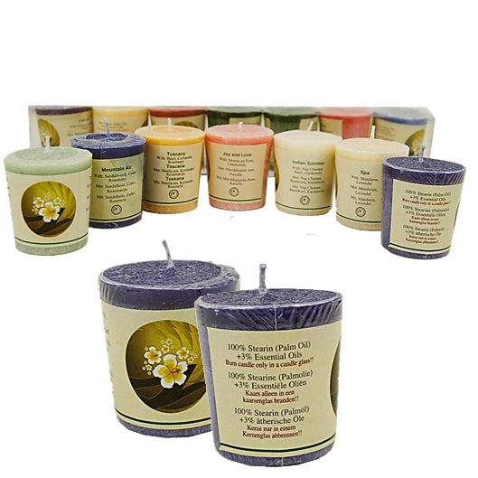 NEW ARRIVAL OF STEARIN PALM OIL CANDLES