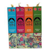 TALES OF INDIA INCENSE SET OF FOUR 15 GM INCENSE STICK PACKETS BY HARI DARSHAN