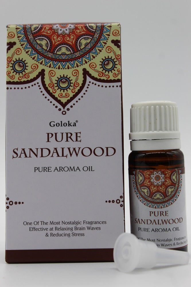 Goloka Sandalwood Pure Fragrance Oil