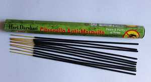 Large Citronella Incense Sticks for Gnats 10 Sticks per Packet 40 cm
