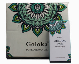 GOLOKA ARRUDA RUE PURE FRAGRANCE OIL FOR OIL BURNERS RELAXING SOOTHING