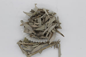 CALIFORNIAN WHITE SAGE 28 GRAMS 1 OZ BAG FOR CLEANSING & PROTECTION