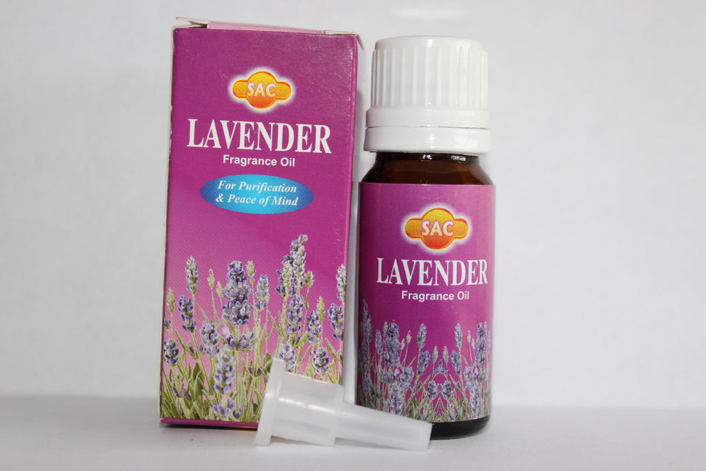 SAC LAVENDER 10ML FRAGRANCE OIL FOR OIL BURNERS PEACEFUL SLEEP MEDITATION