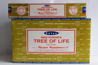 SATYA TREE OF LIFE INCENSE STICKS JOSS STICKS 15 GM PACKETS
