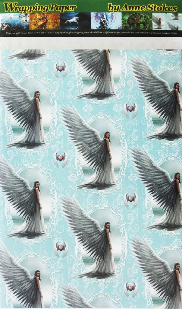 Spirit Guide High Quality Wrapping Paper by Anne Stokes