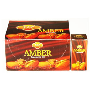 SAC AMBER FRAGRANCE OIL 10 ml BOTTLE