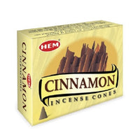 Hem Cinnamon Incense Cones 10 Cones per packet