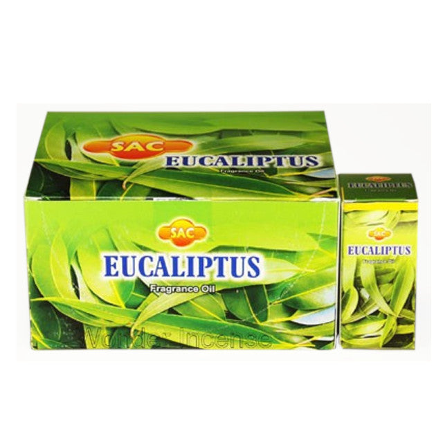 SAC EUCALIPTUS FRAGRANCE OIL 10 ML BOTTLE FOR OIL DIFFUSER
