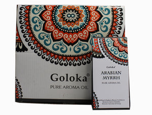 GOLOKA ARABIAN MYRRH PURE FRAGRANCE OIL FOR PROTECTION & CONFIDENCE