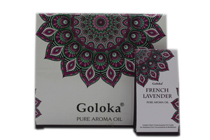 GOLOKA FRENCH LAVENDER FRAGRANCE OIL FOR OIL BURNERS 10ML FOR RELAXATION