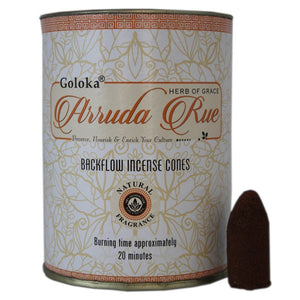 Goloka Arruda Rue Back Flow Incense Cones