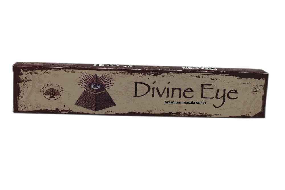 Green Tree Divine Eye Incense Sticks 15 grams