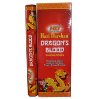 Hari Darshan Dragons Blood Incense Sticks 20 sticks per packet Hand Rolled